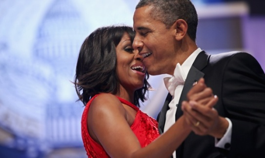 Inaugural Ball - Barack And Michelle 2