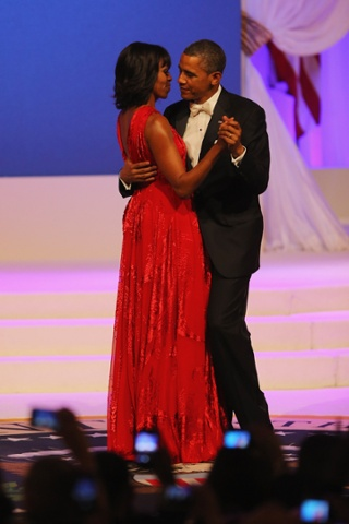 Inaugural Ball - Barack And Michelle