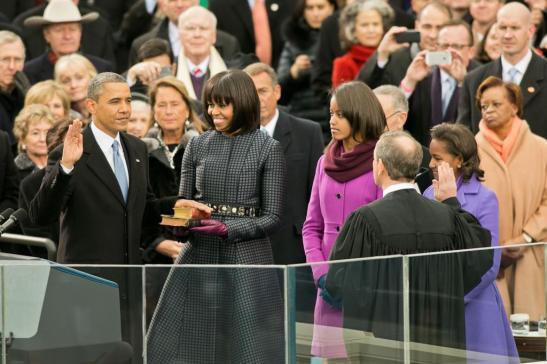 Inaugural Oath - Barack 2
