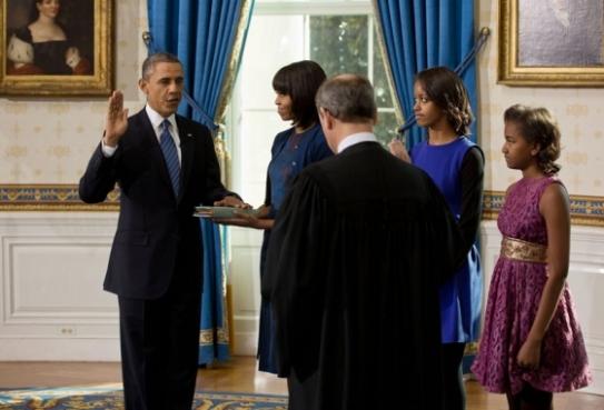 Inaugural Oath - Barack