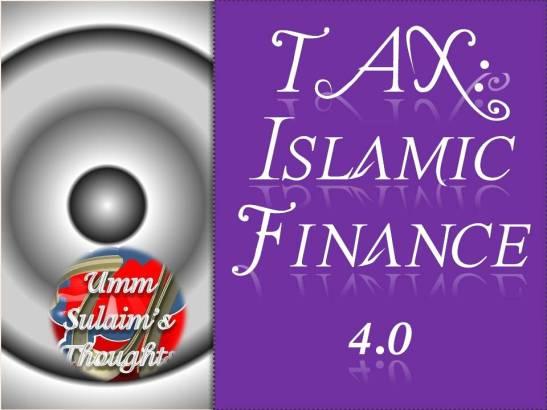 TAX - Islamic Finance 4.0