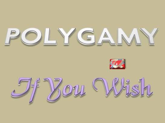 POLYGAMY - If You Wish