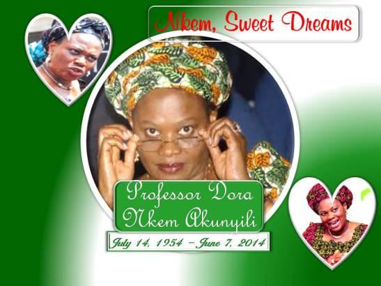PROFESSOR DORA NKEM AKUNYILI - Nkem, Sweet Dreams