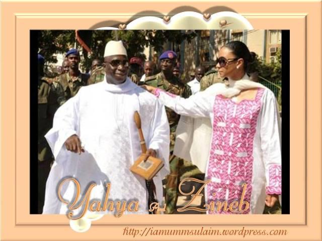 Zineb Yahya Jammeh YAHYA JAMMEH: Hands On...