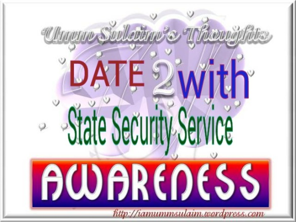 DATE WITH STATE SECURITY SERVICE ~SSS