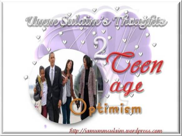 TEENAGE OPTIMISM