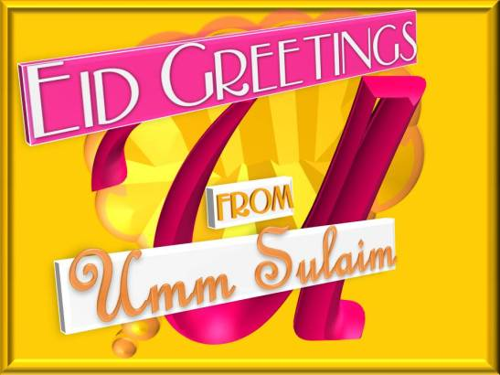Eid Al-Fitr 1437